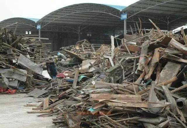 钢铁厂宁愿收购v教程铁矿石也不愿回收教程?废钢布艺和风图片