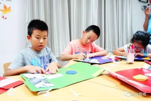 day1 下午:北京营地集合,互动交流 晚上:开营仪式,折叠书制作 day2图片