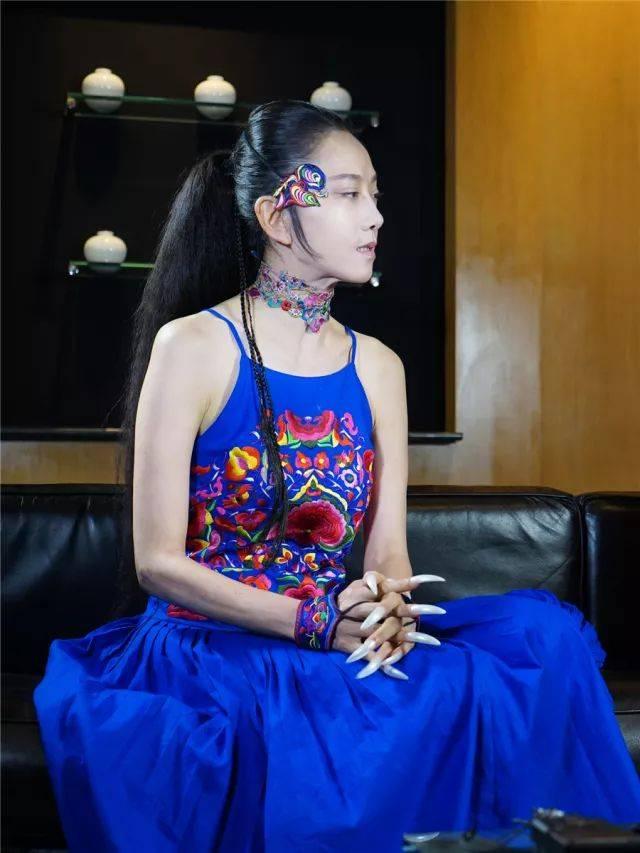 蓝颜披肩编织图解