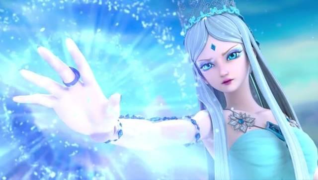 精灵梦叶罗丽第六季,冰公主和水王子的矛盾,原来都是因为王默图片