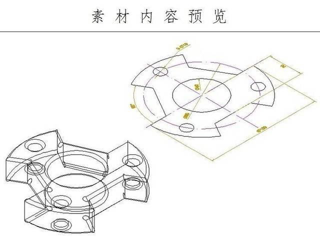 cad制图,各种机械图纸的绘图是在所难免的,机械图纸练习图纸怎么获取