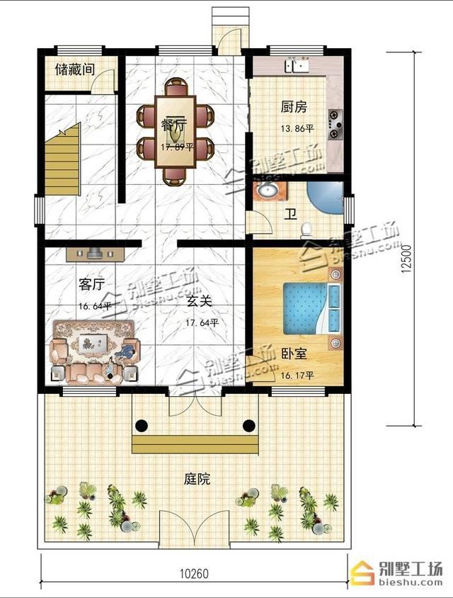 2开间房子设计图