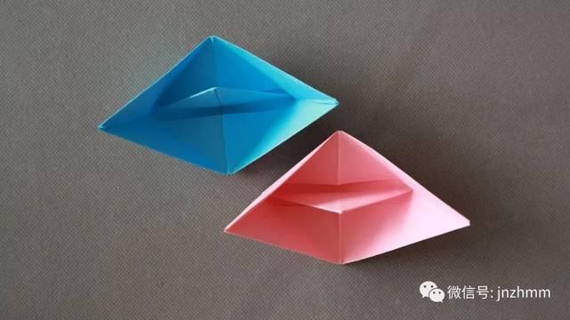 手工制作纸船简单