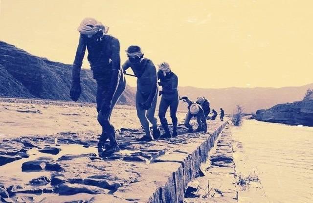 老包头 · 黄河上的纤夫图片