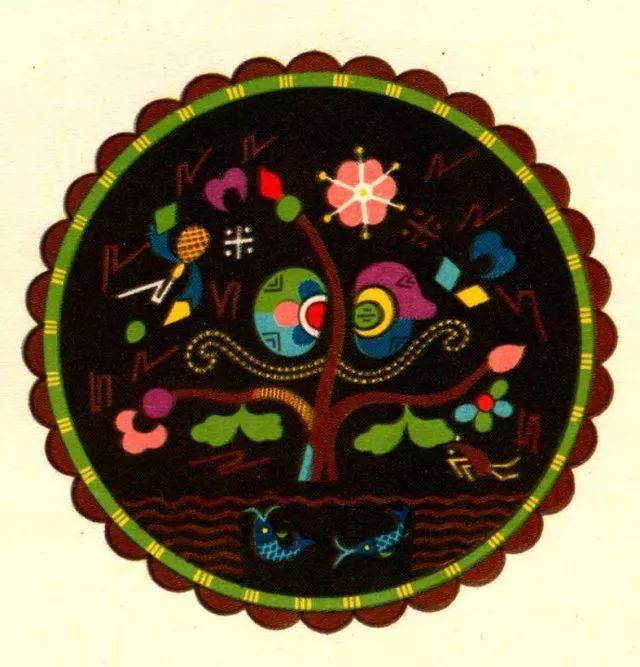苗族刺绣图案 大苗山 注 图文均选自《广西少数民族图案选集》 收集