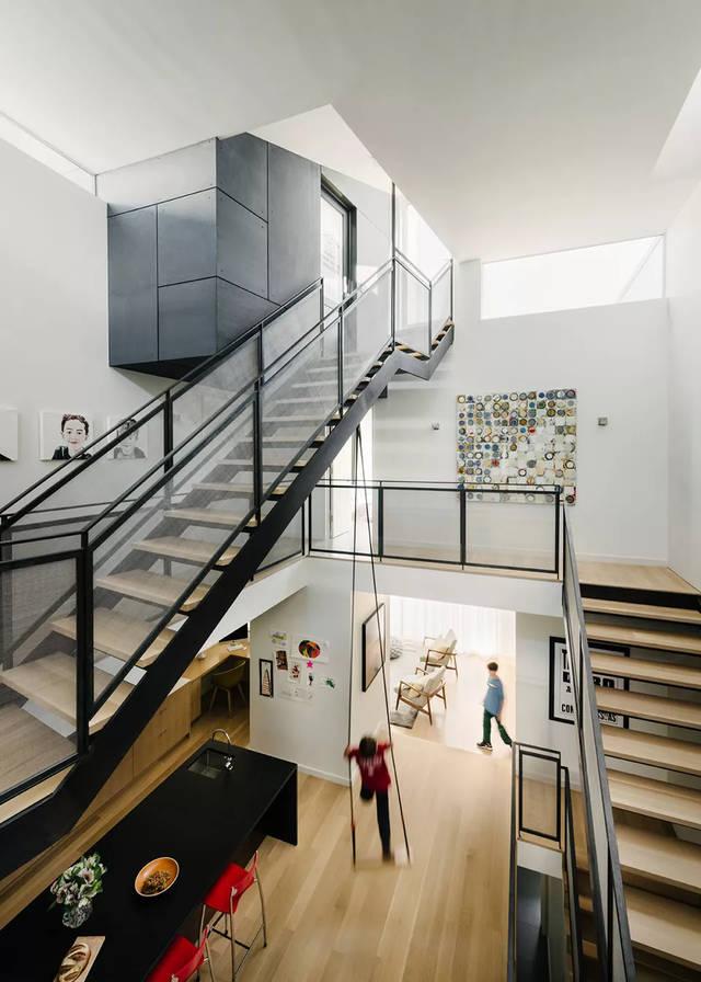 楼梯形式透视图