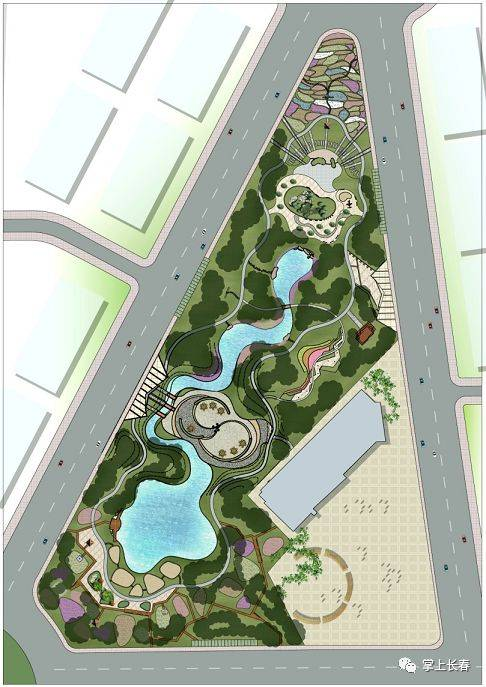 花溪公园平面图
