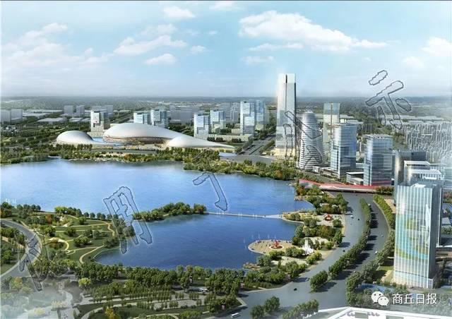 《商丘市商务中心区核心区城市设计》,《商丘火车站高铁核心区城市