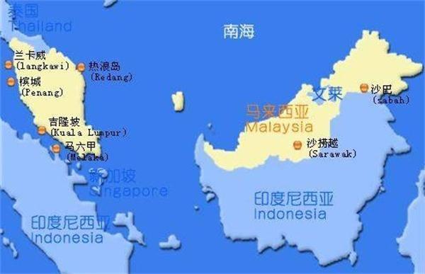 纳闽岛地图
