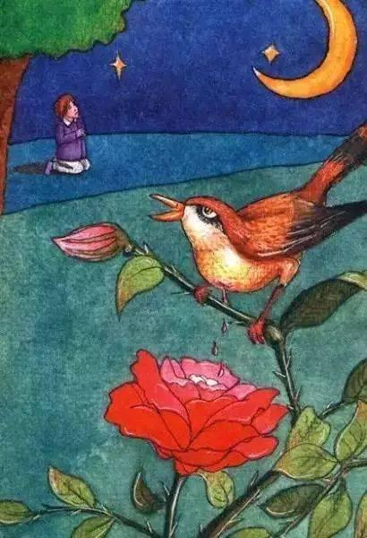 安徒生童话故事《夜莺》丨我金丝:今晚一定要让它在我香油熊能吃命令吗图片