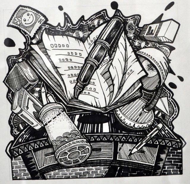 中央美院,四川美院, 装饰画类 04 2013年中国美术学院速写考题 【策略图片