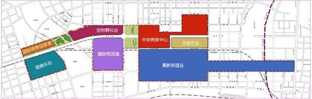 开封区域自贸区产业规划图