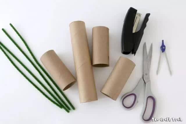 纸巾筒手工制作步骤