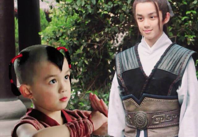 """他就是在《封神榜之凤鸣岐山》中扮演了小哪吒一角的""""三石弟弟""""吴磊图片"""