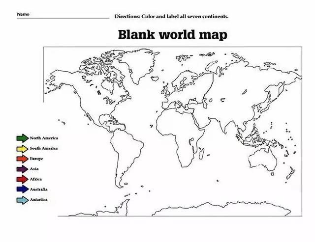 一起通过世界地图涂色,了解一下这六大赛区吧!