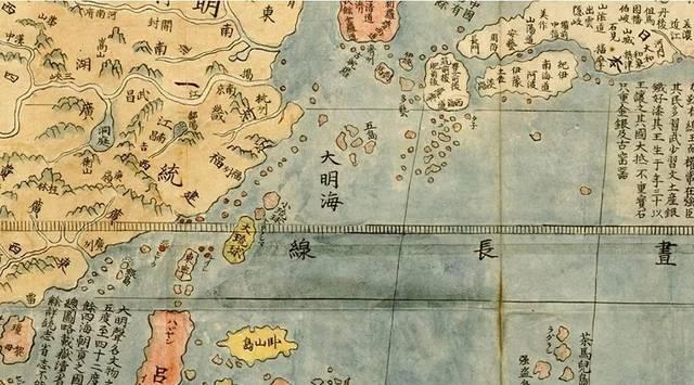 手绘台湾风景地图