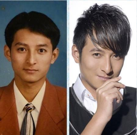 李维嘉这毕业照有点帅,网友说他像吴奇隆,其实更像一位天王巨星图片