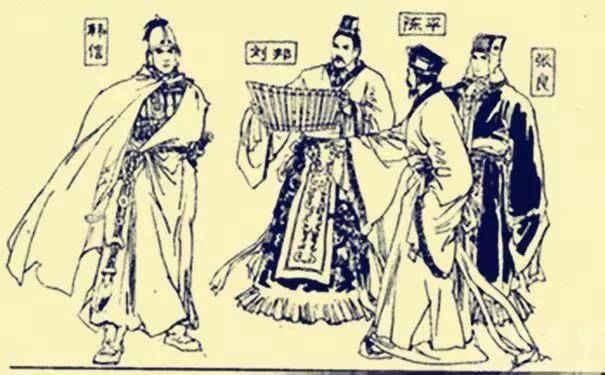手绘韩信旧模型