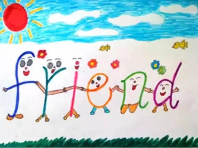 疯狂创意的孩子,这样玩转单词抄写作业:相信学生,学生会创造惊喜!图片
