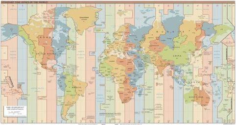 根据世界时区的划分_世界时区如何划分的?