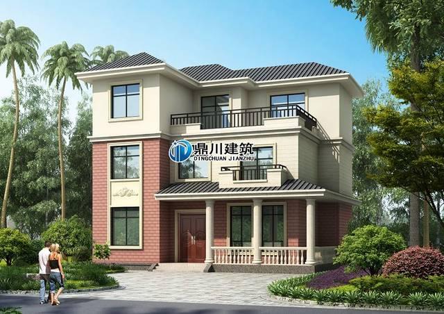精选6款三层自建别墅设计图纸,超高性价比,农村生活就该这样过!
