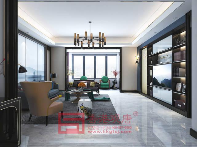 餐厅的设计结合意大利的设计理念,摒弃繁复和杂念,桌面简洁,配色摩登