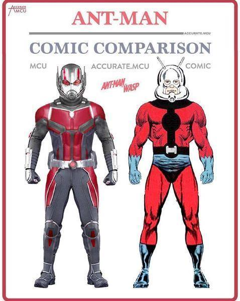 美队,其实美队算是对漫画人物还原度很高的角色了.