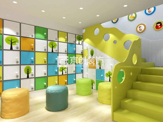 三门峡幼儿园装修设计,河南幼儿园装修公司装饰精彩案例分享