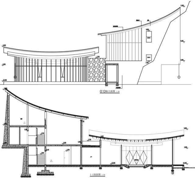 ▼茶室平面图