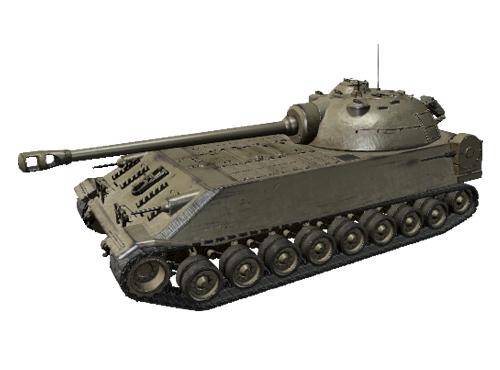 t110e5坦克_浅谈美军克莱斯勒t110重型坦克