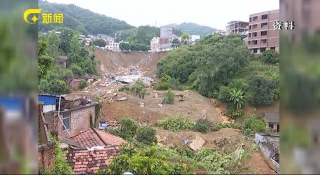 广西百色凌云因山体滑坡被埋一家6口找到了,但已