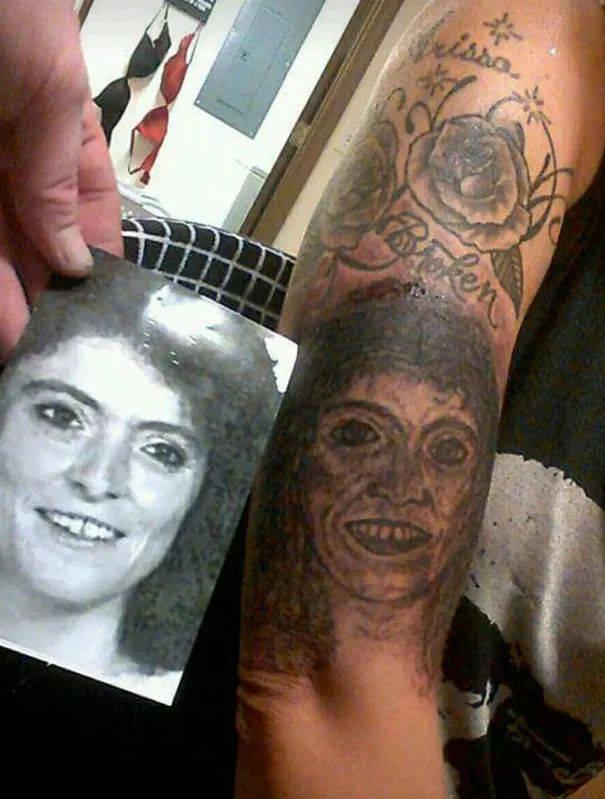 外国网评最丑的纹身合集 原谅我笑出了声哈哈.