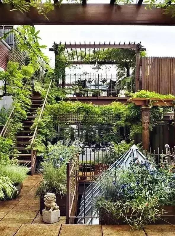 100个适合中国家庭的院子设计案例图片