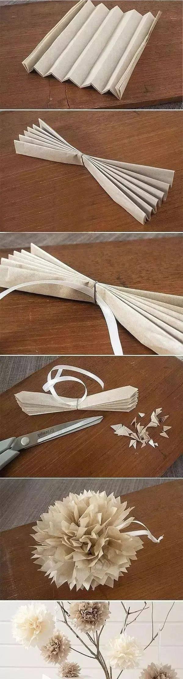 手工|康乃馨简易折纸