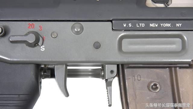 名枪:瑞士造短小的突击步枪 sg552突击步枪