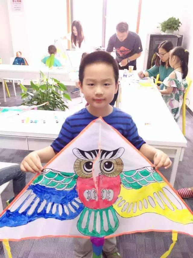 友谊青年中心丨diy手绘风筝体验活动回顾