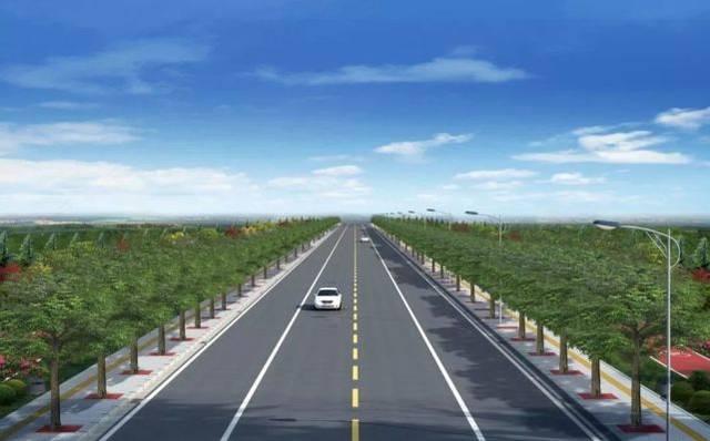道路等级:城市支路 设计车速:40km/h 长约3147m 道路等级:城市支路