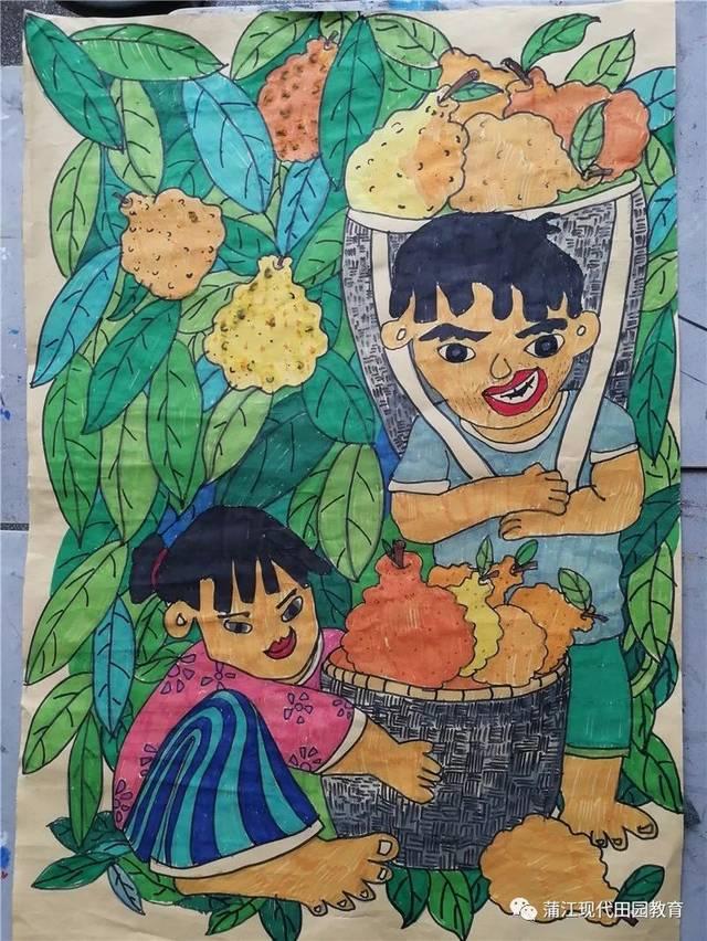 蒲江县第八届中小学生艺术节美术作品评选结果出炉!图片