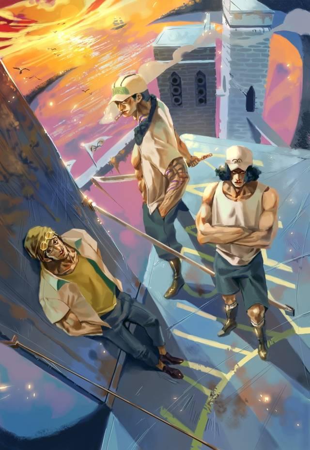 海贼王:盘点6位海军大将实力排名,听说工资限制了黄猿