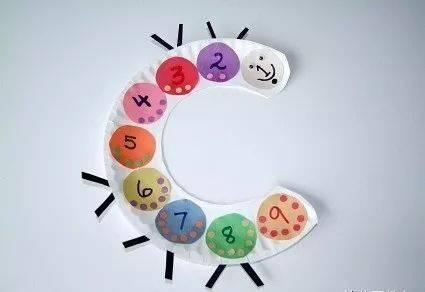简单好玩的幼儿园数学手工教具制作图片