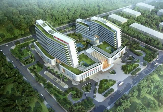 近10亿投资!珠海这家三甲专科医院今天付款建设啦!室内设计启动流程图片