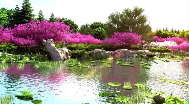 阜阳植物园将长啥样?景观设计效果来了!