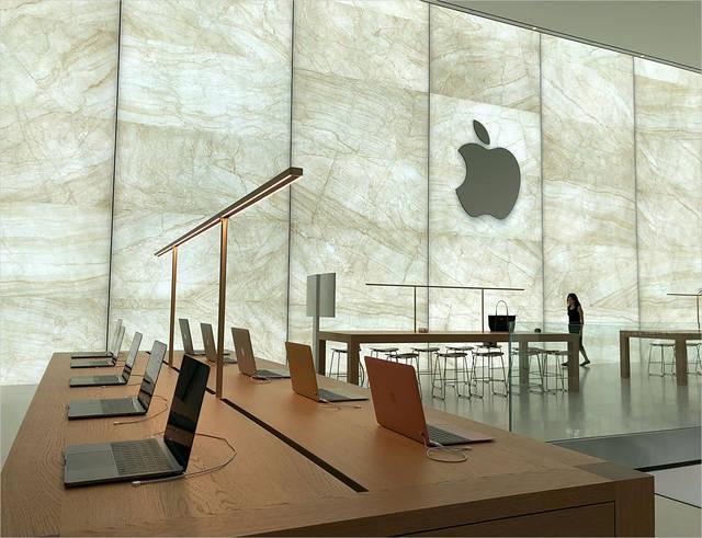 大中华区第50家苹果零售店落户澳门金沙:创多项第一 设计出彩