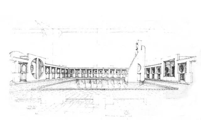 建筑手绘图