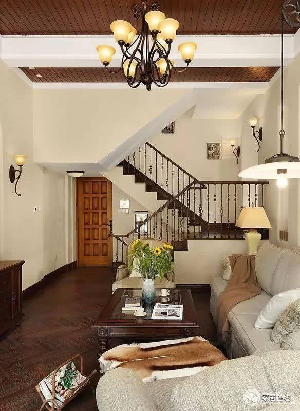 加州城300平米别墅 现代美式轻奢复古风图片