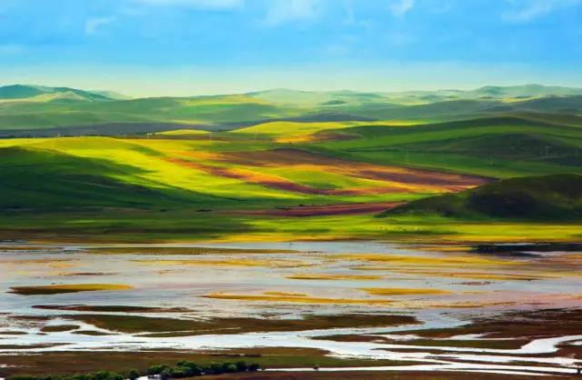 涵盖了额尔古纳除原始森林外几乎所有类型的自然生态系统.图片