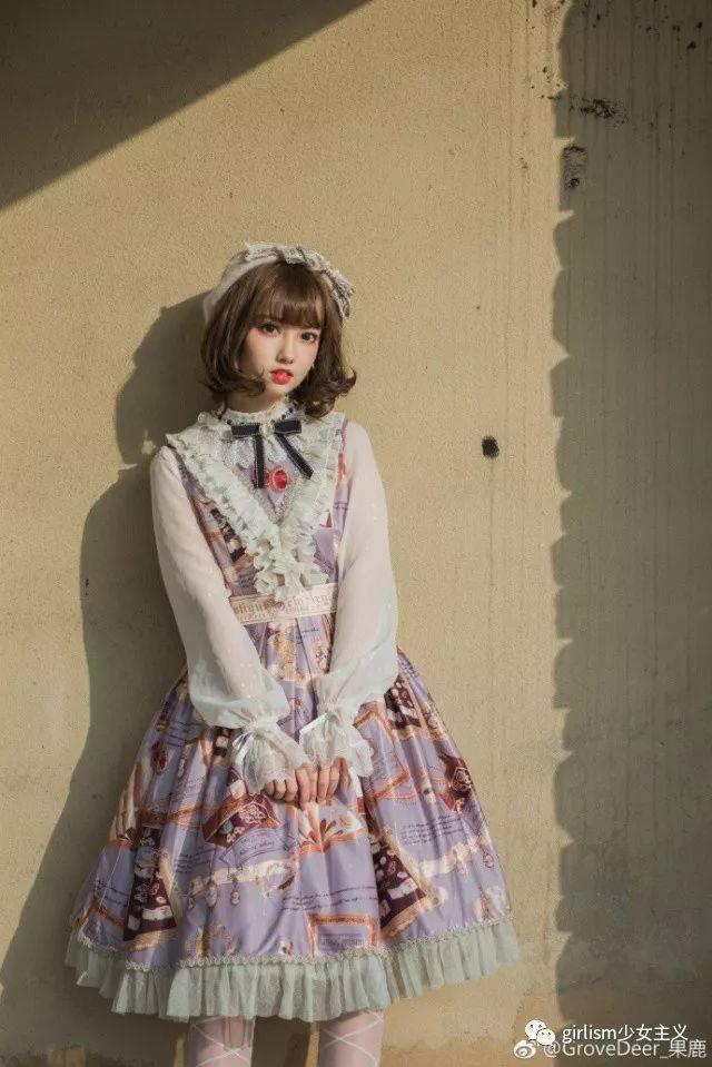 十里丹青_lolita原创设计图片