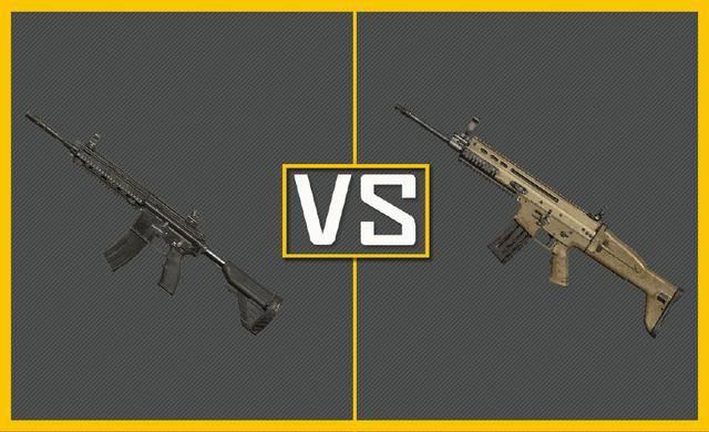 刺激战场:scar和m416谁最适合钢枪?玩家的回答让官方直接无语