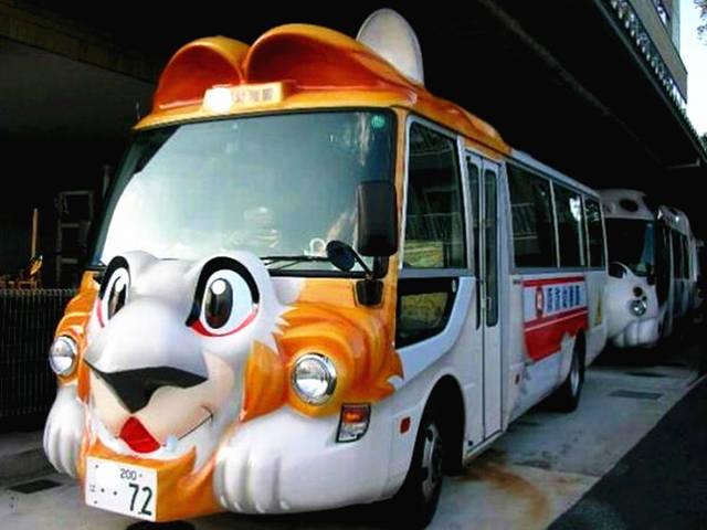 日本幼儿园这是真是萌萌哒,还是去上学支座上校车设计加工说明书图片