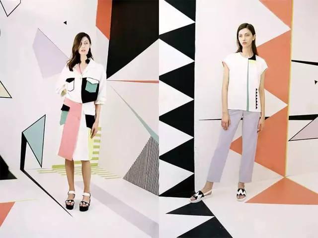 """服装设计领域 这种常常称为""""ins网红风""""服饰设计作品,也是汲取"""""""